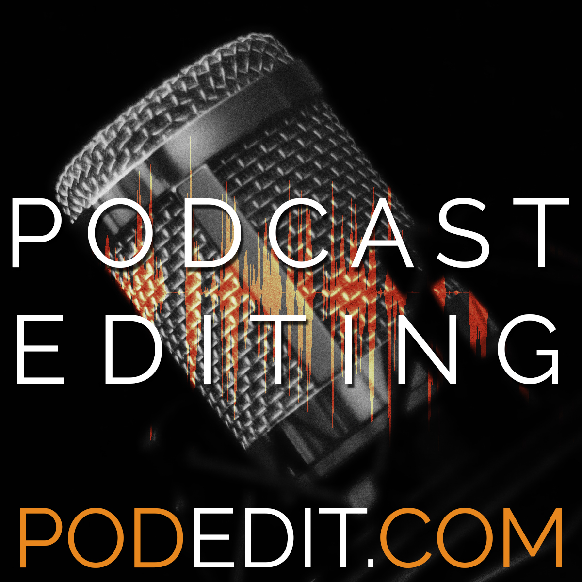 Podcast Editing Image